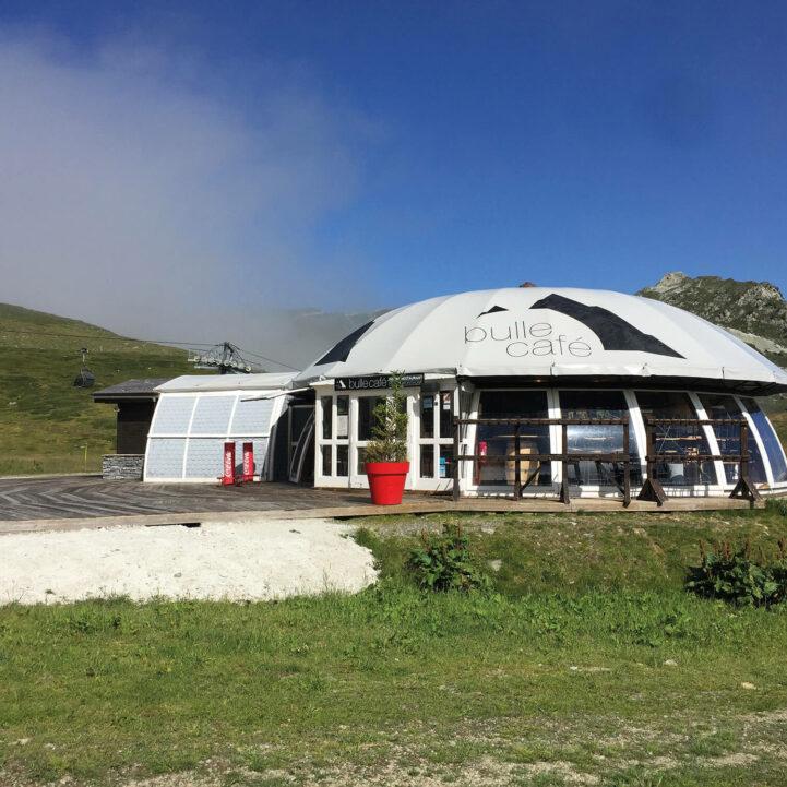 Arcs 2000 Bulle café existant - Ciel Architecture