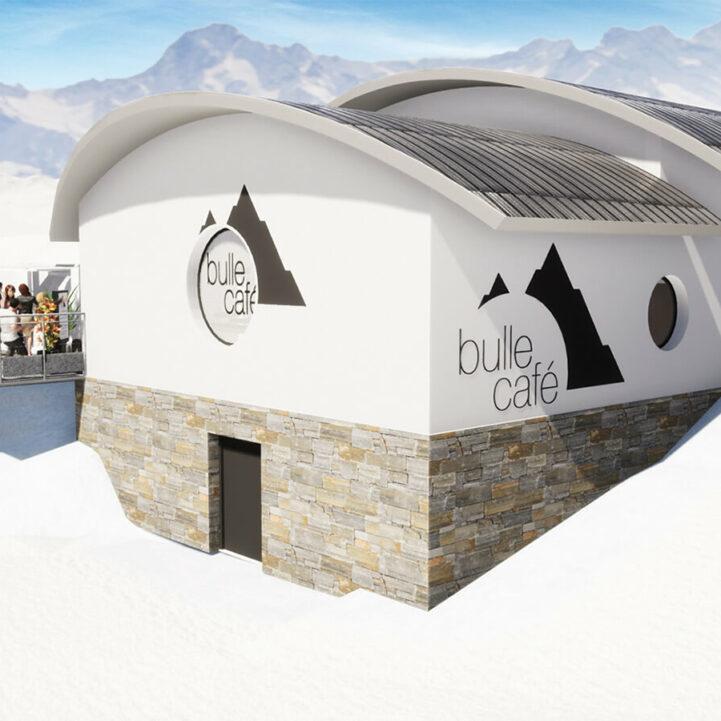 rcs 2000 Bulle café projet aval - Ciel Architecture