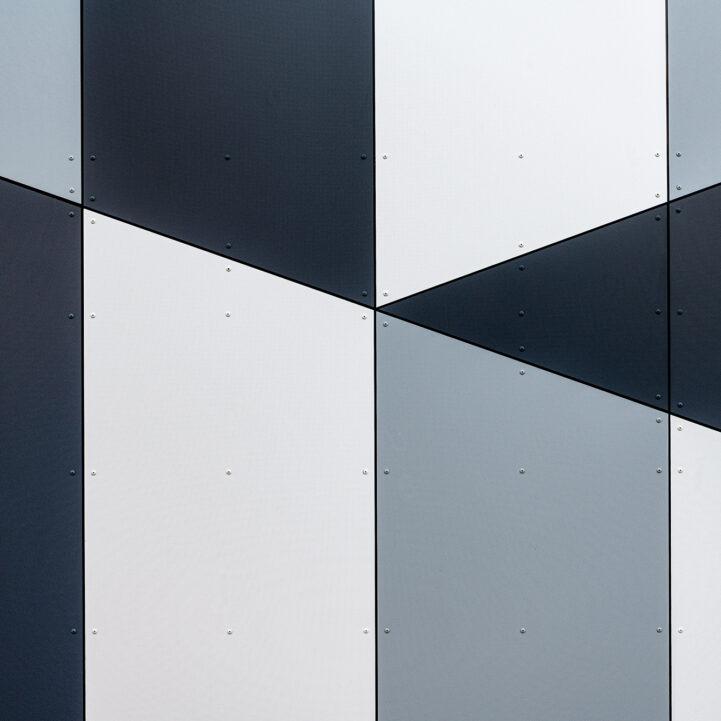 Gymnase Aix-les-Bains intérieur détails - Ciel Architecture