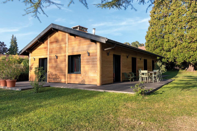 Renovation maison Annecy-Le-Vieux Bardage - Ciel Architecture