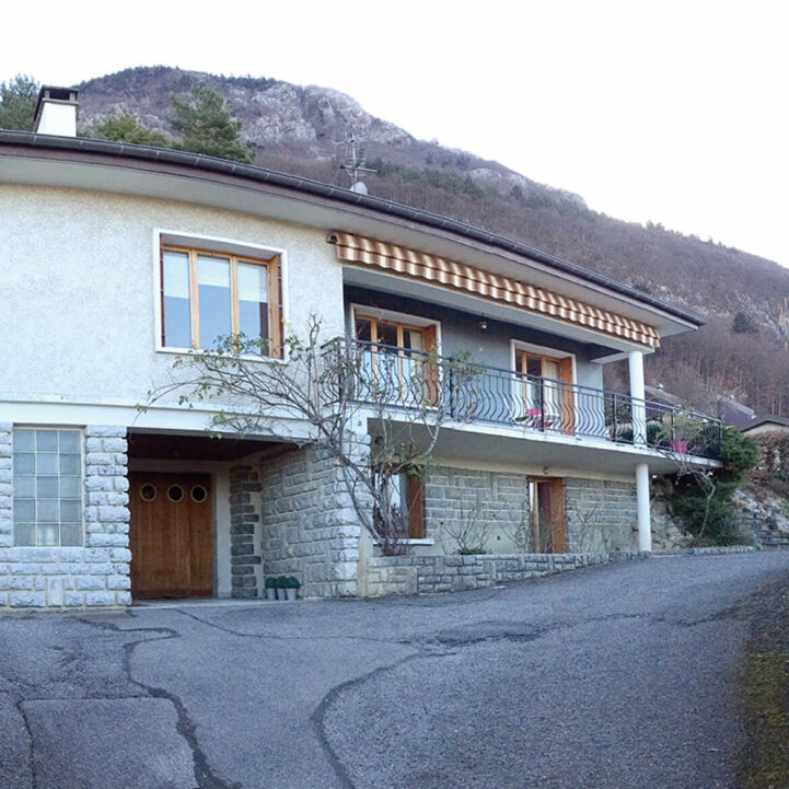 Particulier Annecy-le-Vieux rénovation ancien - Ciel Architecture