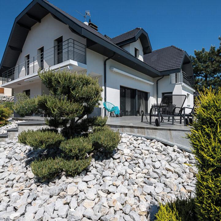 Rénovation maison terrasse - La Biolle - Ciel Architecture