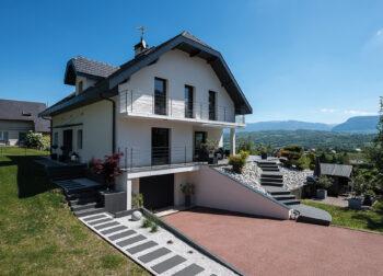 Rénovation maison - La Biolle - Ciel Architecture