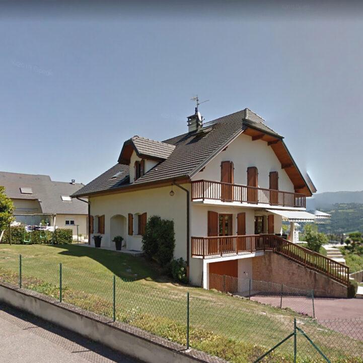 Rénovation maison avant - La Biolle - Ciel Architecture