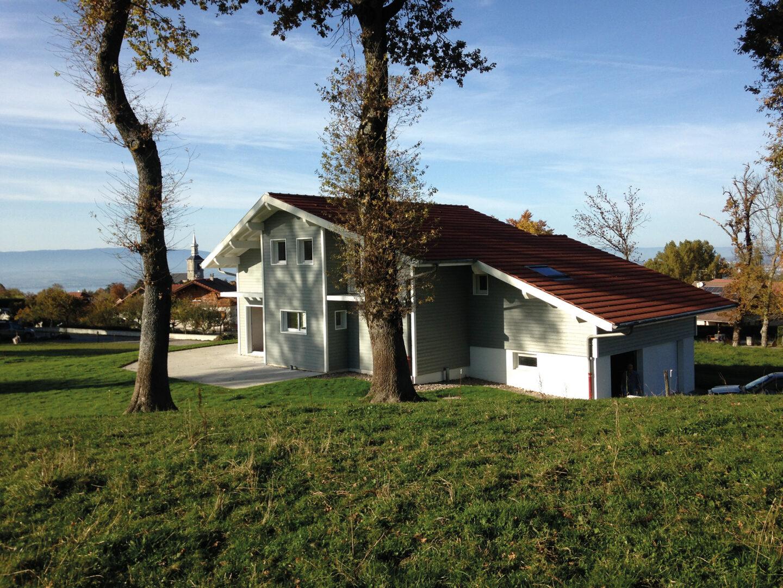 Maison Particulier Saint-Paul-Chablais maison moderne - Ciel Architecture