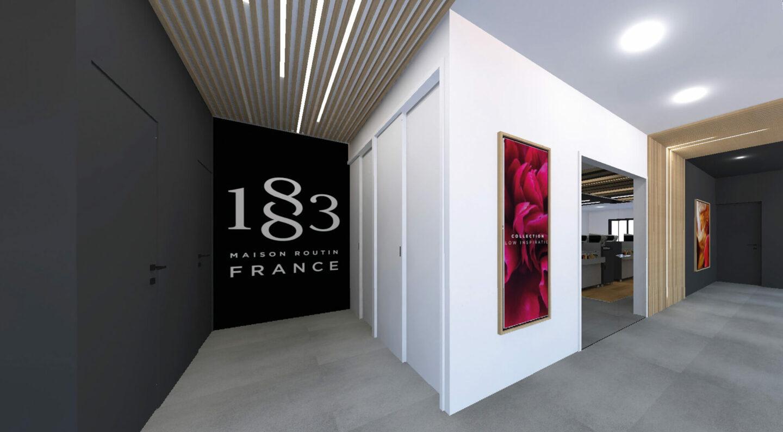 Routin La Motte Servolex Entree - Ciel Architecture