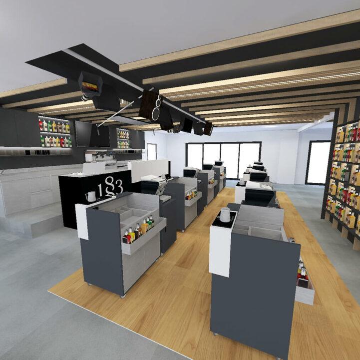 Routin La Motte Servolex lab formation espace - Ciel Architecture