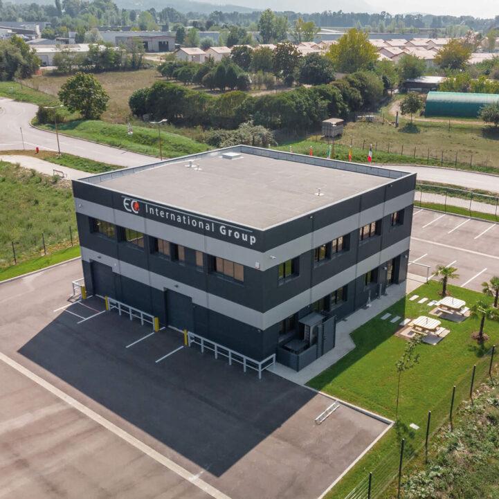 Tertiaire EC International Aerien - Ciel Architecture