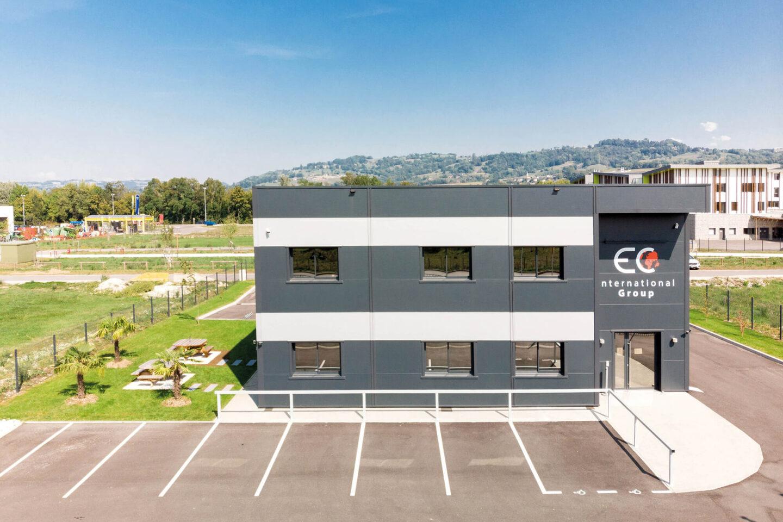 Tertiaire EC International implantation - Ciel Architecture