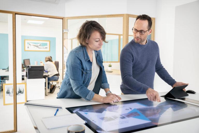 Réunion architectes outils technologique
